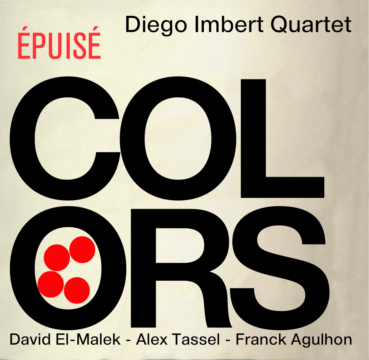 "Diego Imbert Quartet ""Colors"""